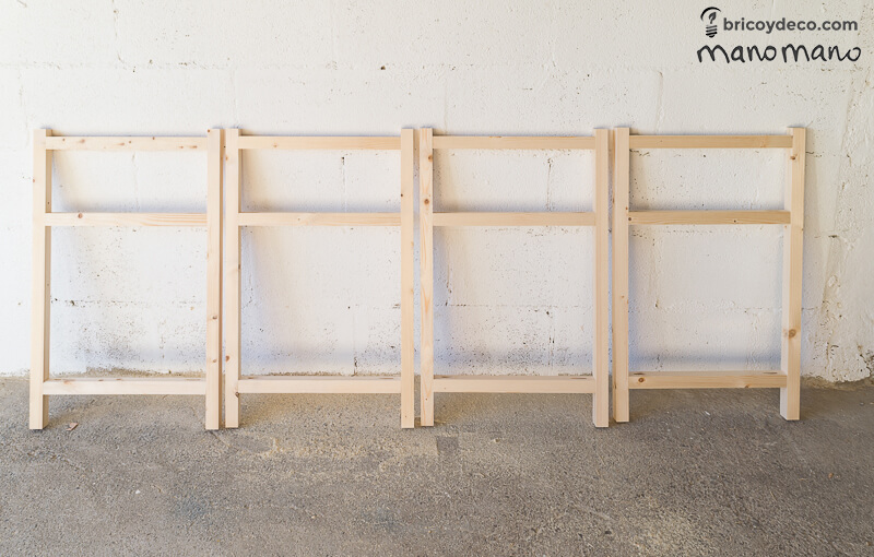 manomano the handy mano pallet tv stand DIY complete frames