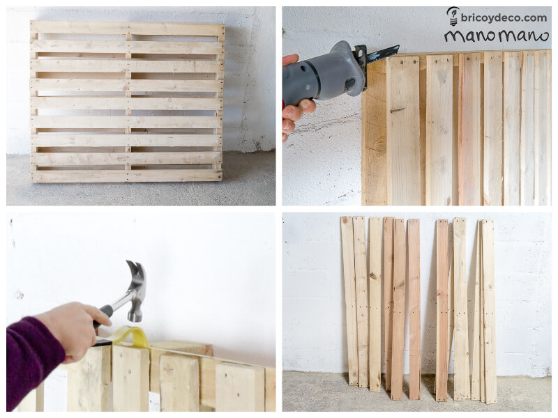 thehandymano mano mano tutorial diy how to make pallet trolley deconstruct pallet