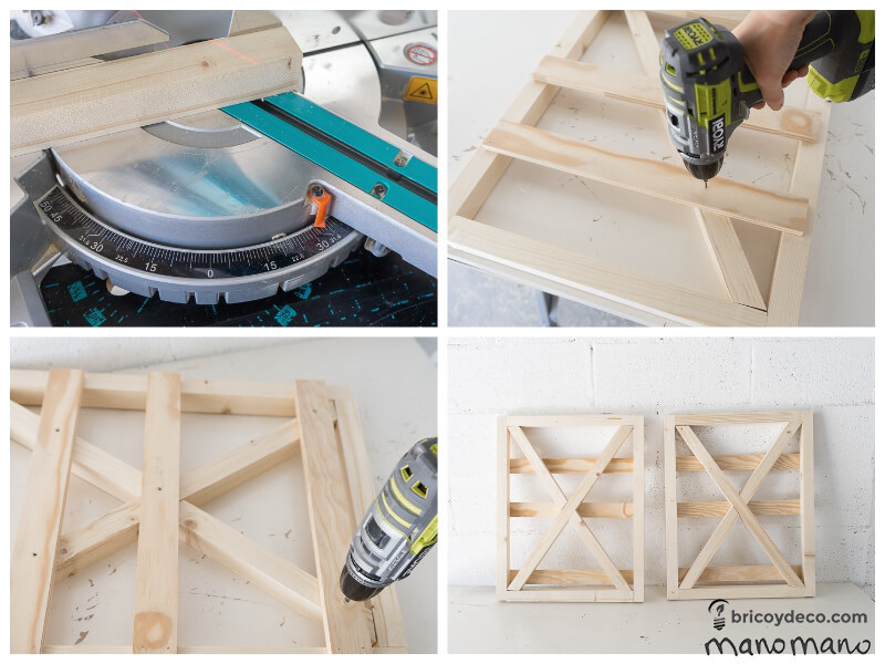 thehandymano mano mano tutorial diy how to make pallet trolley join using drill